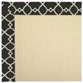 Capel Rugs Creative Concepts Beach Sisal - Arden Black (346) Rectangle 6