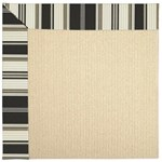 Capel Rugs Creative Concepts Beach Sisal - Down The Lane Ebony (370) Rectangle 12' x 15' Area Rug