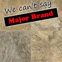 Signature Altiva Reserve Classico Travertine: Cameo Brown Gray Luxury Vinyl Tile D4312