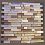 "Glass Tile & Stone Klassy Series Mosaic 12"" x 12"" : MS915"