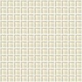 "Daltile Color Wave Glass Mosaic 1"" x 1"" : Whipped Cream CW0511MS1P"