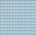 "Daltile Color Wave Glass Mosaic 1"" x 1"" : Blue Lagoon CW1311MS1P"