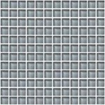 "Daltile Color Wave Glass Mosaic 1"" x 1"" : Smoked Pearl CW1711MS1P"