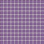 "Daltile Color Wave Glass Mosaic 1"" x 1"" : Purple Magic CW3111MS1P"