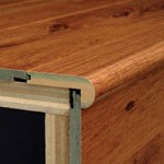 "Bruce Summerside Strip Oak: Stair Nose Gunstock - 78"" Long"