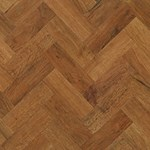 Karndean Art Select: Auburn Oak Parquet Luxury Vinyl Tile AP02