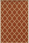 Shaw Living Inspired Design Chateau Garden (Brown) Round 7'8