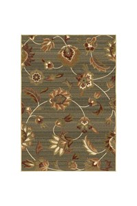 Shaw Living Transitions Fleur (Beige) Rectangle 7'8