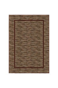 Shaw Living Concepts Flora Vista (Brown) Rectangle 7'9