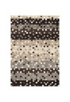 Shaw Living Kathy Ireland Home Essentials Imperial Bouquet (Ebony) Rectangle 2'3