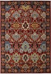 Shaw Living Antiquities Tabriz Trellis (Navy) Rectangle 7'9