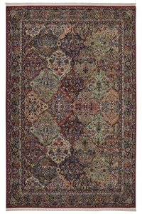 Nourison Collection Library Alexandria (AL05-BRN) Rectangle 2'0