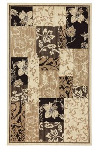 Nourison Collection Library Ashton House (AS24-BLK) Rectangle 2'0