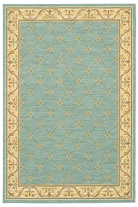Nourison Collection Library Ashton House (AS30-BL) Rectangle 2'0