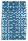 Nourison Collection Library Parthia (PT09-AQU) Rectangle 2'0