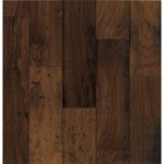 "Bruce American Vintage Rustic Walnut: Mesa Brown 3/8"" x 5"" Engineered Walnut Hardwood E5575"