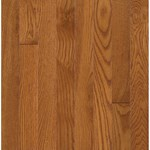 "Bruce Waltham Strip Oak: Brass 3/4"" x 2 1/4"" Solid Oak Hardwood C8240"