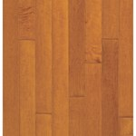 "Bruce Turlington Lock&Fold Maple: Russet/Cinnamon 3/8"" x 3"" Engineered Maple Hardwood EMA86LG"