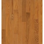 "Bruce Natural Reflections Oak: Butter Rum/Toffee 5/16"" x 2 1/4"" Solid Oak Hardwood C5216"