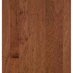 "Bruce Turlington Lock&Fold Hickory: Wild Cherry/Brandywine 3/8"" x 5"" Engineered Hickory Hardwood EHK69LG"