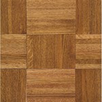 "Armstrong Urethane Parquet Oak: Honey 7/16"" x 12"" Solid Oak Hardwood 212140"