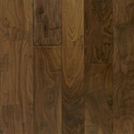 "Armstrong Artesian Hand-Tooled: Whisper 1/2"" x 4"", 5"" & 6"" Random Width Engineered Walnut Hardwood EMW6321"