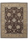 Capel Rugs Creative Concepts Cane Wicker - Cayo Vista Graphic (315) Octagon 4' x 4' Area Rug
