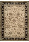 Capel Rugs Creative Concepts Cane Wicker - Canvas Sand (712) Octagon 4' x 4' Area Rug