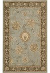 Capel Rugs Creative Concepts Cane Wicker - Canvas Sand (712) Octagon 6' x 6' Area Rug