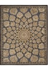 Capel Rugs Creative Concepts Cane Wicker - Bamboo Coal (356) Octagon 10' x 10' Area Rug