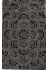 Capel Rugs Creative Concepts Cane Wicker - Down The Lane Ebony (370) Octagon 10' x 10' Area Rug