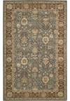 Capel Rugs Creative Concepts Cane Wicker - Canvas Royal Navy (467) Octagon 12' x 12' Area Rug