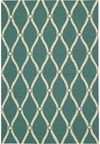 Capel Rugs Creative Concepts Cane Wicker - Coral Cascade Avocado (225) Rectangle 4' x 4' Area Rug