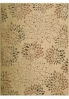 Capel Rugs Creative Concepts Cane Wicker - Canvas Sand (712) Rectangle 4' x 4' Area Rug