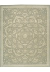Capel Rugs Creative Concepts Cane Wicker - Canvas Lawn (227) Rectangle 4' x 6' Area Rug