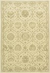 Capel Rugs Creative Concepts Cane Wicker - Brannon Whisper (422) Rectangle 4' x 6' Area Rug