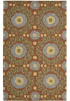 Capel Rugs Creative Concepts Cane Wicker - Fife Plum (470) Rectangle 6' x 6' Area Rug