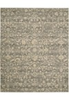 Capel Rugs Creative Concepts Cane Wicker - Coral Cascade Ebony (385) Rectangle 7' x 9' Area Rug