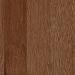 "Mohawk Berry Hill: Hickory Thrasher Brown 3/4"" x 2 1/4"" Solid Hardwood WSC34 92"
