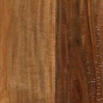 "LW Mountain Pre-Finished Hand-Scraped Walnut: Braided Walnut 3/4"" x 4 3/4"" Solid Hardwood LWSHBW/434"