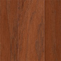 "Mohawk Warrenton: Hickory Warm Cherry 3/8"" x 3"" Engineered Hardwood WEC38 16"