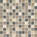 "Daltile Mosaic Traditions: Skyline 1"" x 1"" Glass Mosaic Tile BP99-11MS1P"