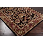"Surya Ancient Treasures Jet Black (A-108) Rectangle 3'3"" x 5'3"""