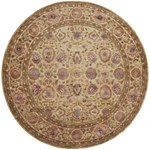"Surya Ancient Treasures Feather Gray (A-117) Round 8'0"" x 8'0"""