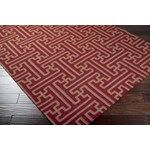 "Surya Smithsonian Archive Maroon (ACH-1701) Rectangle 3'6"" x 5'6"""