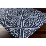 "Surya Beth Lacefield Alameda Sapphire Blue (AMD-1005) Square 0'6"" x 0'6"""