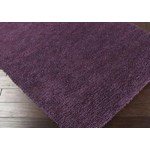 "Surya Aros Prune Purple (AROS-15) Rectangle 3'6"" x 5'6"""