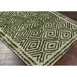 "Surya Beth Lacefield Atlas Spruce Green (ATS-1009) Square 1'6"" x 1'6"""
