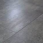 Faus Floor Masterpieces Collection: Rusted Porcelain Grigio 10mm Laminate With Attached Pad F-706264