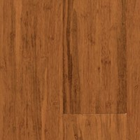 "USFloors Natural Bamboo Expressions Collection: Hand Scraped Spice 1/2"" x 5 1/4"" Locking Solid Strand Woven Bamboo 604LWSHS"
